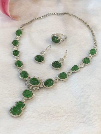 imperial green jade jewellery