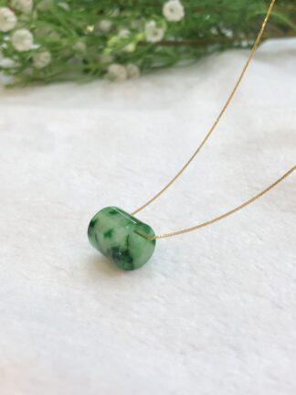 green jade barrel