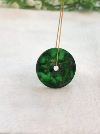 green jade coin