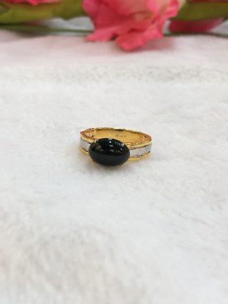omphacite jade ring