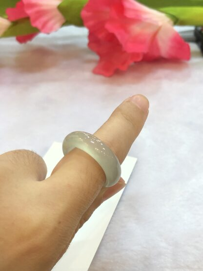 icy jade ring