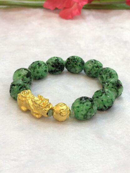gold pixiu bracelet