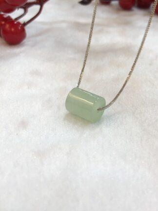 icy green jade barrel